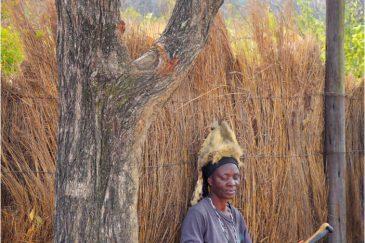 Племена на руинах Великого Зимбабве