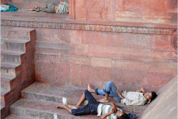 Любимое развлечение индусов - спать днем. Индия
