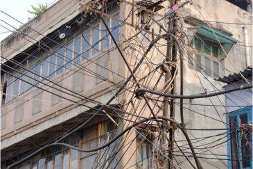 Страшный сон инспектора энергонадзора. Дели, Индия