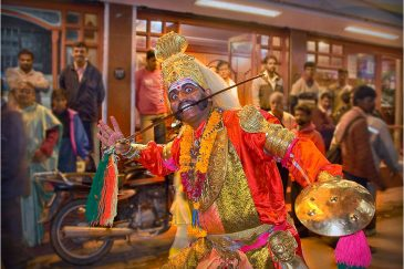 Праздник в городе Ути (Удхагамандалам). Штат Тамилнаду. Индия