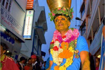 Религиозный праздник в Ути, горы Нилгири. Тамилнаду. Индия