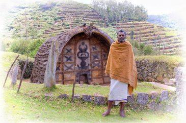 Старик из знаменитого племени Тоддов в горах Нилгири. Индия