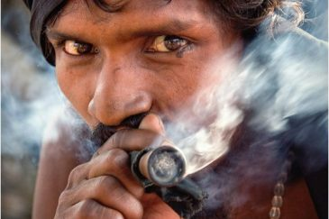 Садху из города Джамму. Индия