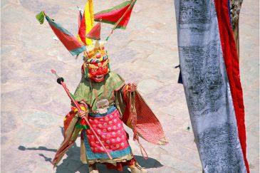 Церемония Цам в монастыре Хемис. Индия