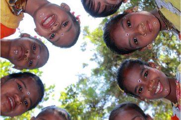 Дети племени Донгрия. Штат Орисса. Индия