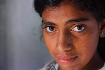 Девушка из племени тоддов. Тамилнаду. Индия