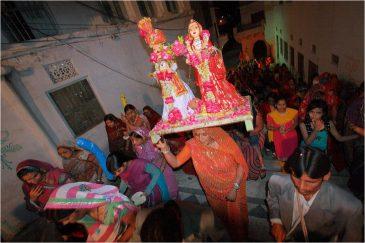 Праздник в Пушкаре, штат Раджастан. Индия