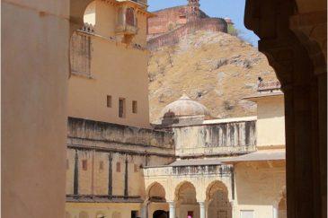 В крепости Амбер, штат Раджастан. Северная Индия