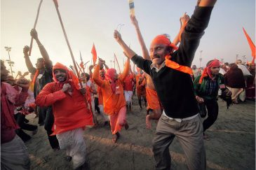 Эмоции фестиваля Кумбха Мела. Индия