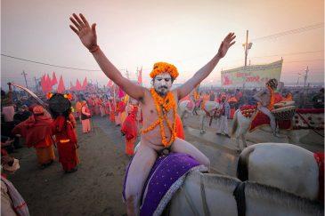 Кумбха-Мела в разгаре. Индия