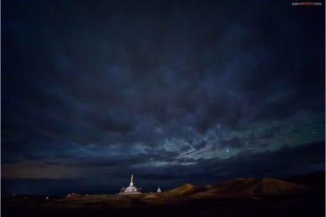 Ступа монастыря Хамарын Хийд (Монгольская Шамбала)