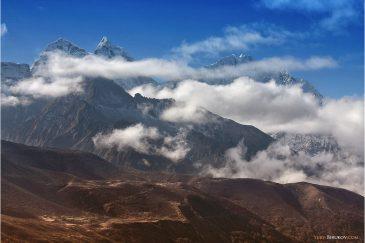 Пейзажи по дороге к Эвересту