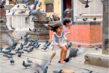 Детство в центре Катманду