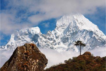 Гора Тамсерку по дороге к Эвересту