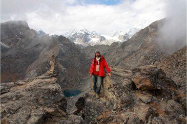 На вершине Гокио Ри (5357 м.), Гималаи