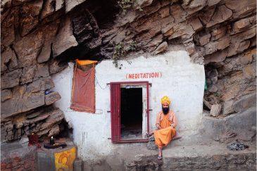 Медитационная пещера в пригороде Катманду Пашупатинатхе