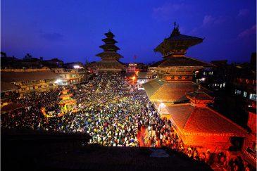 Праздник в Бхактапуре