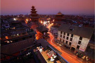 Вечерний Бхактапур