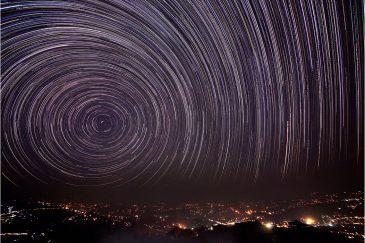Звездные дорожки в поселке Дуликель, долина Катманду