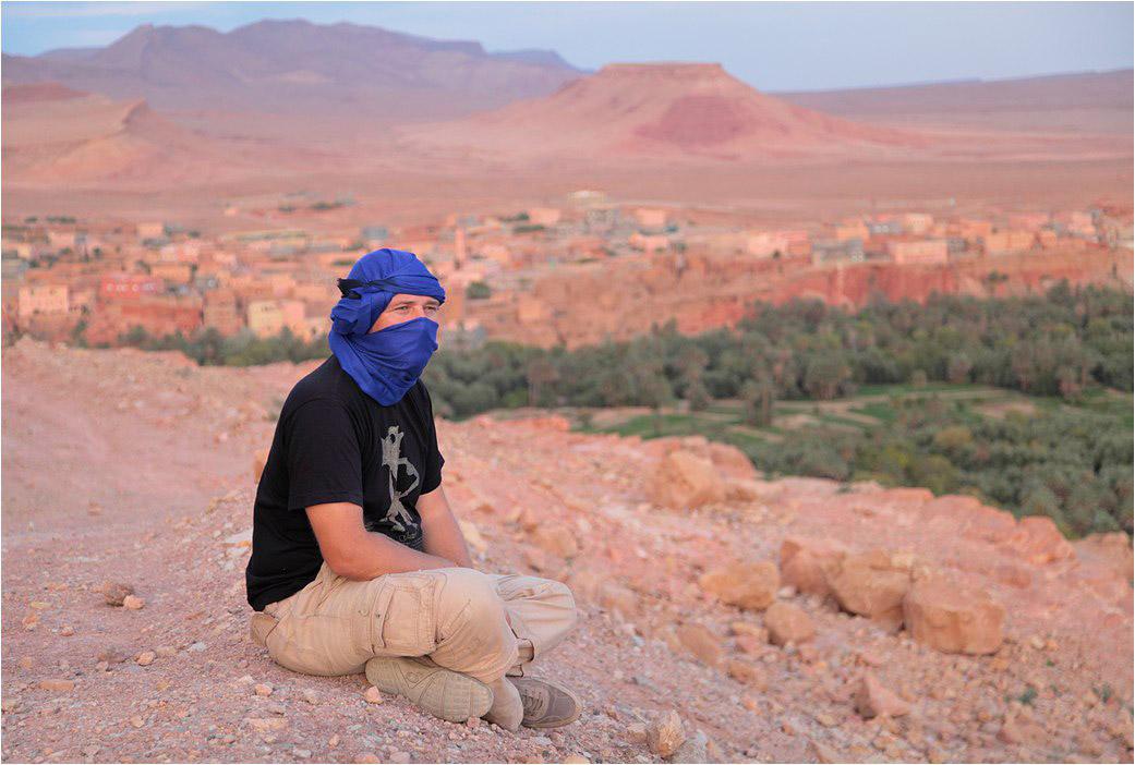 Где-то в Атласских горах в Марокко