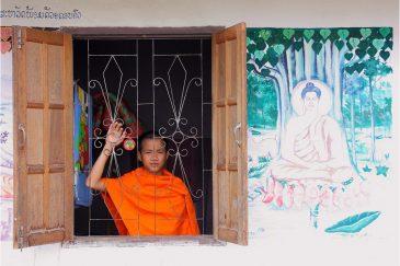 Буддистский монастырь в Муанг Синге