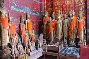 Будды в Луанг Прабанге