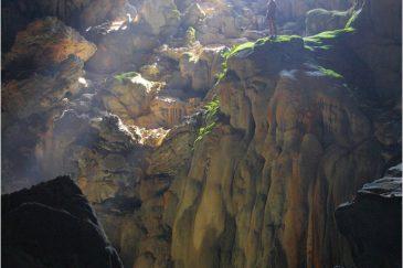 Пещера Там Пу Кам возле Ванвьенга