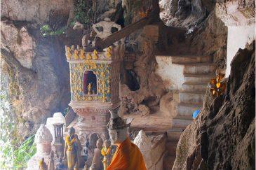 Пещеры Пак Оу возле Луанг Прабанга