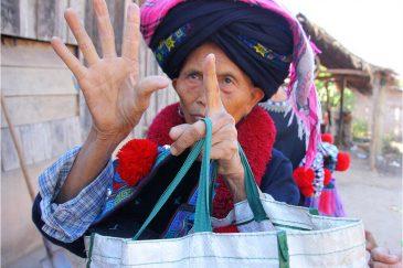Торговля в деревне народности Яо