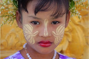 Девочка из города Мандалай