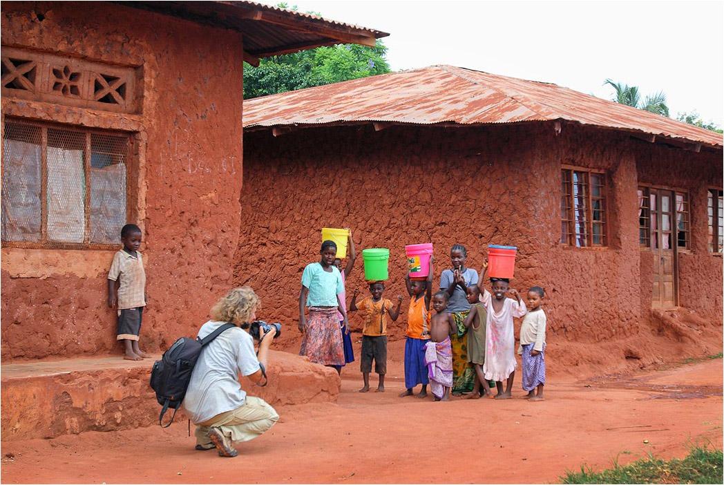 Фотосъемка в окрестностях г. Кигома (оз. Танганьика) в Танзании