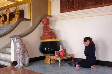 Молитва о рождении ребенка в Бангкоке