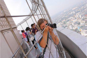 На самом высоком здании Таиланда