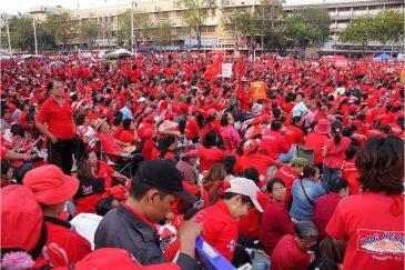 В Бангкоке опять демонстация красных