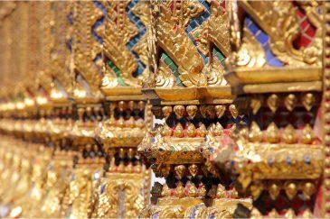 Золото тайских храмов