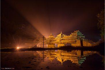 Мост Ченьян (Мост Дождя и Ветра) в провинции Гуанси