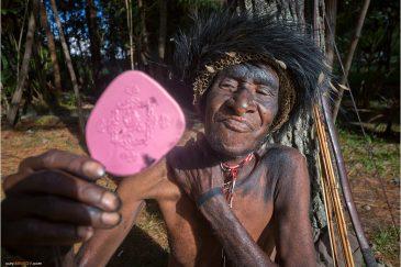 Подготовка к фестивалю папуасских культур