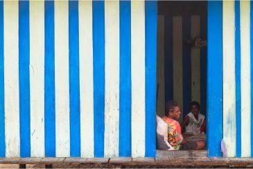 В деревушке на маленьком острове архипелага Раджа-Ампат