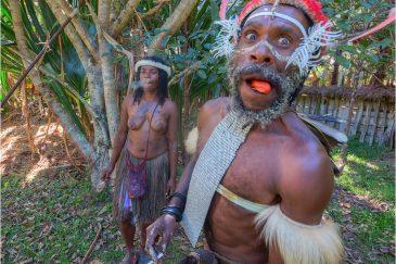 Задорные папуасы долины Балием
