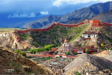 Монастырь Пелкор Чеде и ступа Кумбум в Гьянгдзе