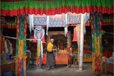 Монастырь Тиртапури в западном Тибете