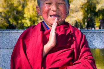 Смешной монах в Лхасе