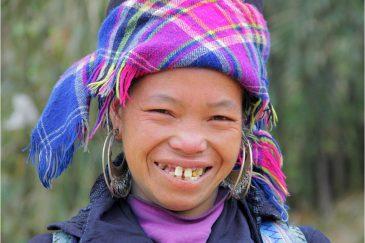 Девушка народности хмонг