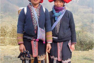 Красные Зяо - народность в горах Северного Вьетнама