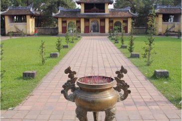 Пагода Тьен Му недалеко от древней столицы Вьетнама города Хюэ