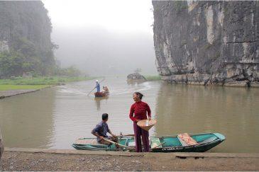 Речушка Нго Донг в Северном Вьетнаме