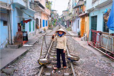 Тесные кварталы Ханоя
