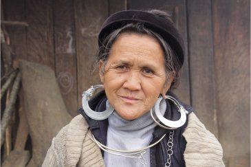 Женщина народности хмонг (мяо)