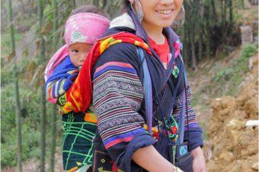 Жители горных деревень Северного Вьетнама