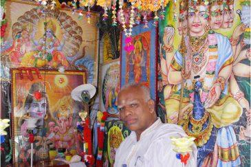 Тамильский брамин в городке Махьянгана